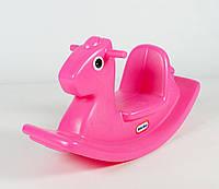 Качалка Лошадка розовая Little Tikes 403