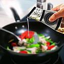 Диспансер бутылка для оливкового и подсолнечного масла Press Measure Oil Dispenser + Подарок, фото 3