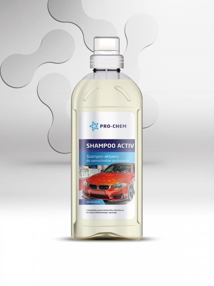 Активный автомобильный шампунь PRO-CHEM SHAMPOO ACTIV (PC212-1)