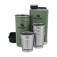 Подарунковий набір фляга з чарками Stanley Adventure Hammertone Green 2 фляги і 4 чарки, фото 1