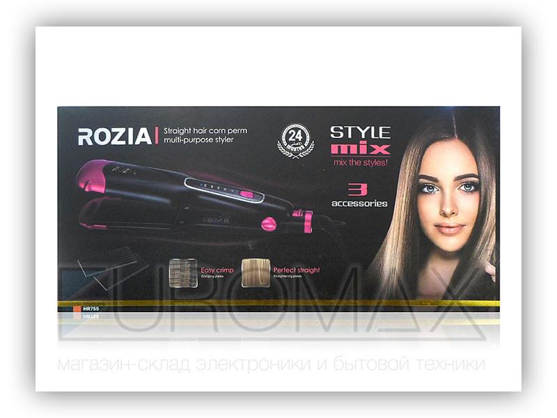 Плойка для волос Rozia 12шт HR755