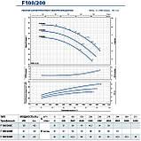 """Промышленный электронасос центробежный Pedrollo F 100/200A стандарта """"EN 733"""", фото 9"""
