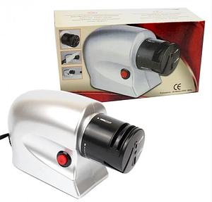 Электрическая точилка для ножей и ножниц от сети 2 в 1 Sharpener Electric
