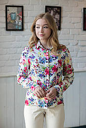 Красива блуза квіти Verezhik House