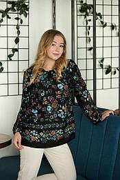 Блуза Black Lame de Femme