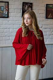 Блуза червона March