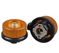 Перехідник-адаптер для підключення пальників з різьбовим з'єднанням під цанговий балон ZR-04