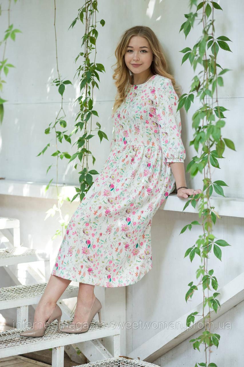 Жіночна сукня в квіти Verezhik House