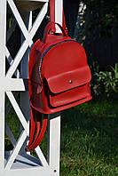 Червоний рюкзак міський, фото 1
