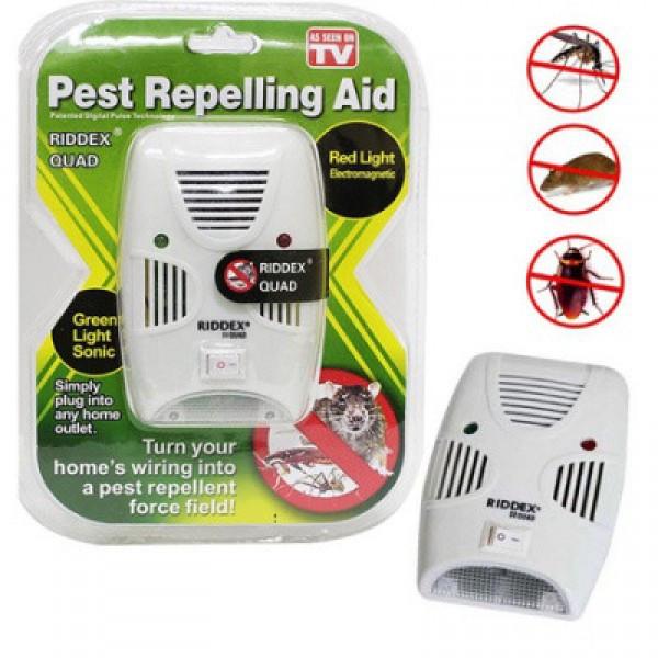 Отпугиватель электронный грызунов и насекомых Pest Repelling Aid 130466 TOP