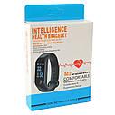Фитнес браслет intelligence health bracelet M3 черный 149488, фото 3
