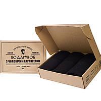 Набор теплых мужских носков Rovix 6 пар, черные, длинные 39-42
