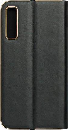 Чехол-книжка SA A750/A7 (2018) black leather Florence, фото 2