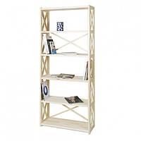Стеллаж для книг деревянный 6 полок RAN6