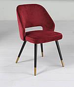 Стул обеденный мягкий Мадрид-1  TES Mobili, цвет бордо