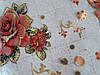 Мягкое стекло Скатерть с лазерным рисунком для мебели Soft Glass 2.7х0.8м толщина 1.5мм Красная роза, фото 2