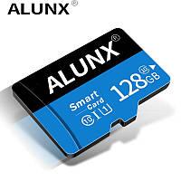 Карта памяти 128GB microSD Class 10 + SD-adapter. Карта памяти микро сд 128 гб Alunx Ultra High Speed RT7321Q