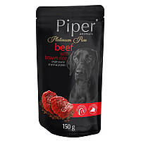 Dolina Noteci Piper Platinum 150г паучи  для собак с говядиной и коричневым рисом