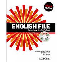 Учебник английского языка English File 3rd Edition Elementary Student's Book