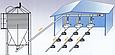 Труба для подачи корма 89 мм, NOVICOR (длиной 3 метра)., фото 3