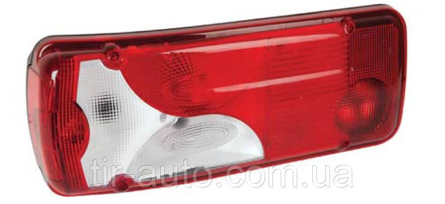 Фонарь задний правый Scania ( красно- белый ) ( ISS1039LKRH )