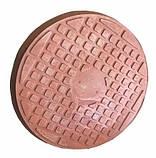 Люк полимерпесчаный коричневый (1 т.) 690/750, фото 4