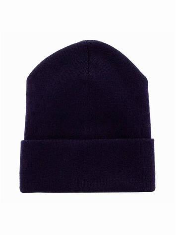 Жіноча шапка синя Go Fitness Ш-С002, фото 2