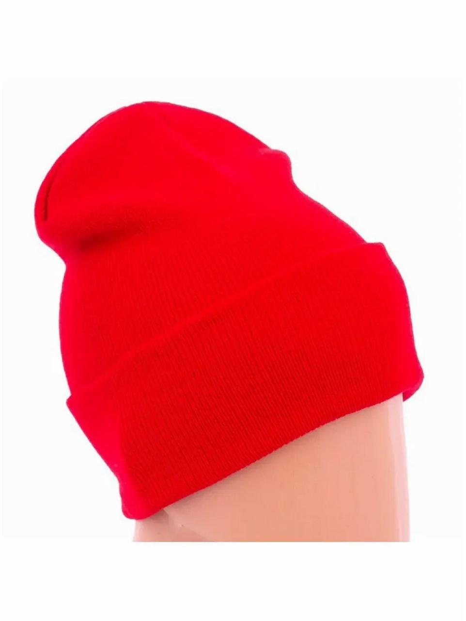 Женская шапка синяя Go Fitness Ш-К005