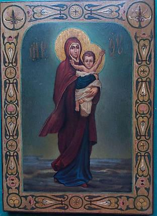 Икона Богородицы Благодатное небо 19 век, фото 2