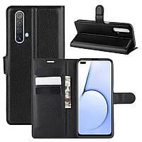 Чехол Luxury для Realme X50 / X50m книжка черный