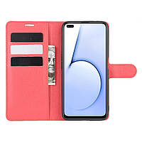 Чехол Luxury для Realme X50 / X50m книжка красный