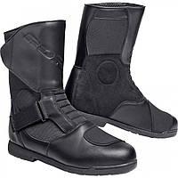 Мотоботы дорожные Road Summer touring leather boots 1.0 Black, 40, фото 1