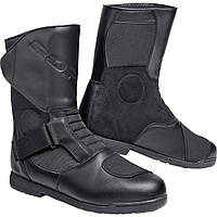 Мотоботы дорожные Road Summer touring leather boots 1.0 Black, 40