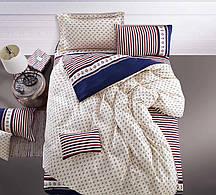 Очаровательное, практичное постельное белье сатин евро комплект якоря