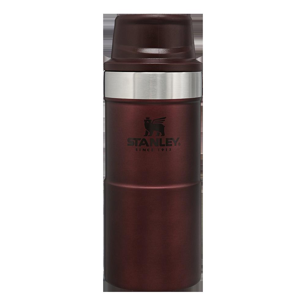 Термокружка Stanley 0,35 л Classic Trigger-action Wine термочашка