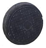 Люк полимерпесчаный черный (12.5 т.) 630/770, фото 5
