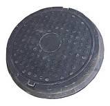 Люк полимерпесчаный черный (12.5 т.) 630/770, фото 3