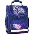 Рюкзак школьный каркасный с фонариками Bagland Успех 12 л. синий 507 (00551703), фото 2