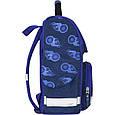 Рюкзак школьный каркасный с фонариками Bagland Успех 12 л. синий 507 (00551703), фото 3