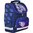 Рюкзак школьный каркасный с фонариками Bagland Успех 12 л. синий 507 (00551703), фото 6