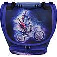 Рюкзак школьный каркасный с фонариками Bagland Успех 12 л. синий 507 (00551703), фото 7