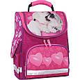 Рюкзак школьный каркасный с фонариками Bagland Успех 12 л. малиновый 593 (00551703), фото 2