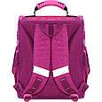 Рюкзак школьный каркасный с фонариками Bagland Успех 12 л. малиновый 593 (00551703), фото 4