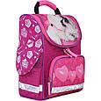Рюкзак школьный каркасный с фонариками Bagland Успех 12 л. малиновый 593 (00551703), фото 5