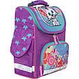Рюкзак школьный каркасный с фонариками Bagland Успех 12 л. фиолетовый 502 (00551703), фото 5