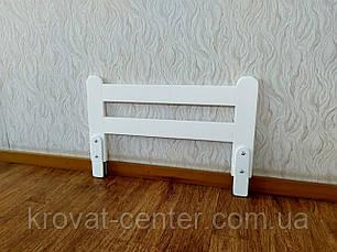"""Белый защитный бортик от производителя """"Масу - 1"""" (цвет на выбор) 70 см., фото 2"""
