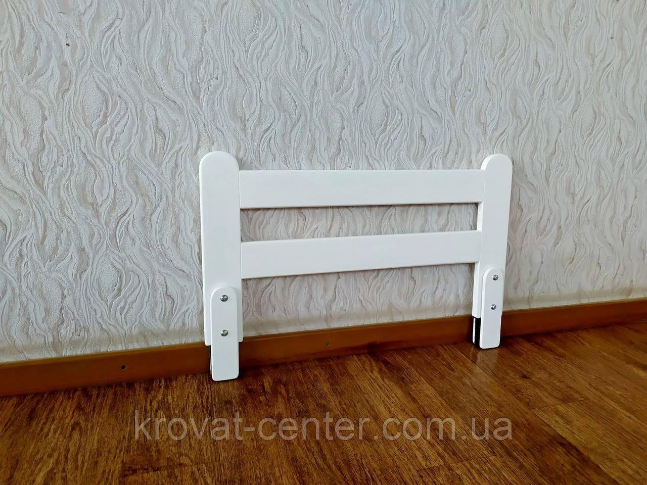 """Белый защитный бортик от производителя """"Масу - 1"""" (цвет на выбор) 70 см."""