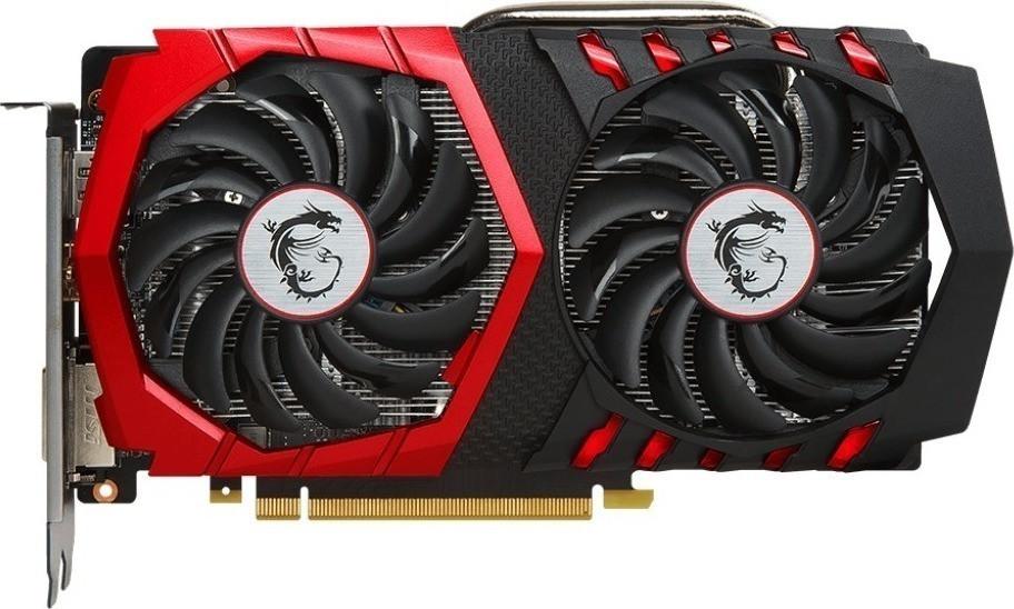 Видеокарта MSI GeForce GTX1050TI 4GB DDR5 GAMING (GF_GTX_1050_Ti_GAMING_4G)