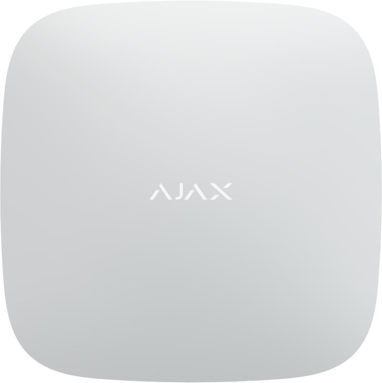 Інтелектуальна централь Ajax Hub Білий (GSM+Ethernet)