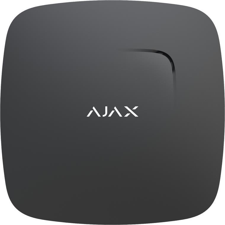 Бездротовий датчик диму і чадного газу Ajax FireProtect Plus Чорний